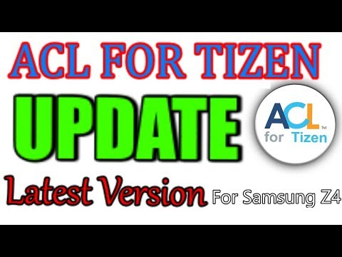 tizen mobile me ACL for tizen 2 2 860 version kaise install