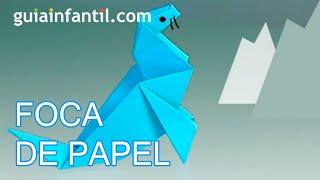 Papiroflexia, una Foca de papel