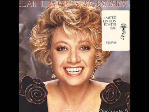Elaine Paige single 17 - Everybody's Singing Love Songs Again -1988