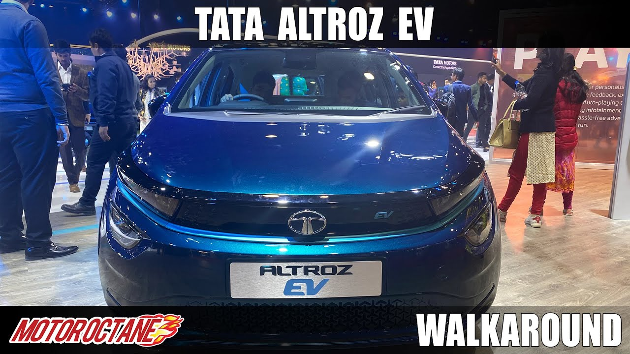 Motoroctane Youtube Video - Tata Altroz EV - Under Rs 10 lakhs? | Auto Expo 2020 | Hindi | Motoroctane
