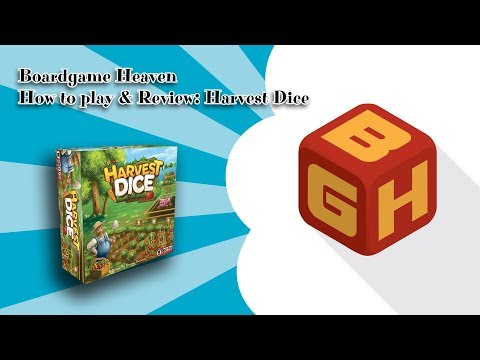 Boardgame Heaven How To Play & Review: Harvest Dice