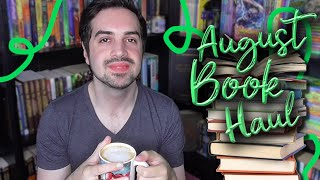 August Book Haul 📚 26 Books!