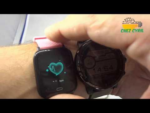 SmartWatch Bakeey G20, une montre connectée petite et efficace