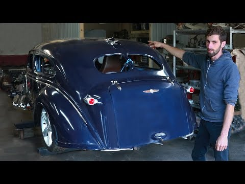 1938 Dodge Brothers | Heavily Modified Hot Rod | Assembly Tour