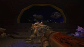 Great Moments in Gaming - Quake 2 Final Boss + secret room HD
