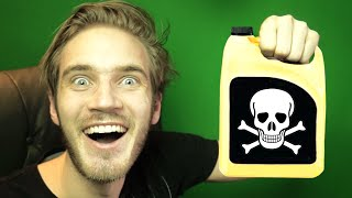 ANTI-FREEZE DRINKING CHALLENGE! | PewDiePie