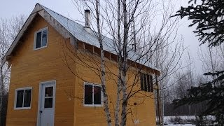 Download Youtube: Building a small off grid cabin   Part 1