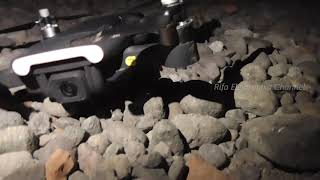 Menerbangkan Drone MJX Bugs 7 Di Malam Hari dan Berdampingan dengan Rembulan