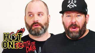 Tom Segura and Bert Kreischer Play Truth or Dab | Hot Ones