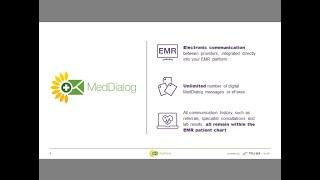 MedDialog webinar for Med Access EMR users
