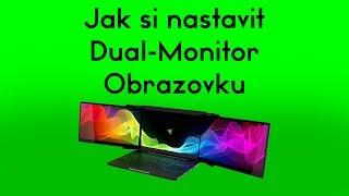 Jak nastavit pozadí plochy na 2 a více monitorů - [CZ - Tutoriál]