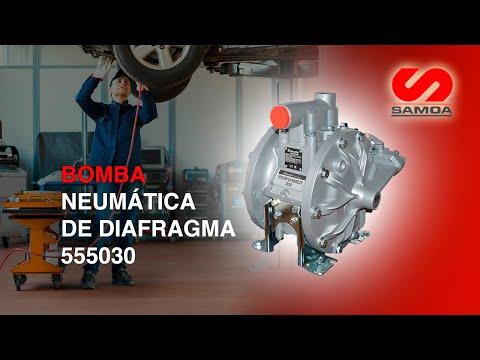 BOMBA NEUMATICA de DIAFRAGMA DP-200NBR 555030 SAMOA 52115
