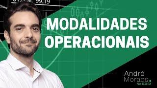 Modalidades Operacionais para o Mercado de Ações