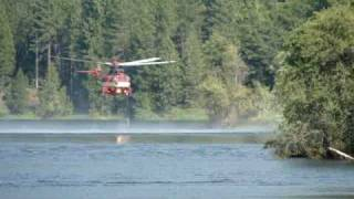 big bend fire/heli's get water