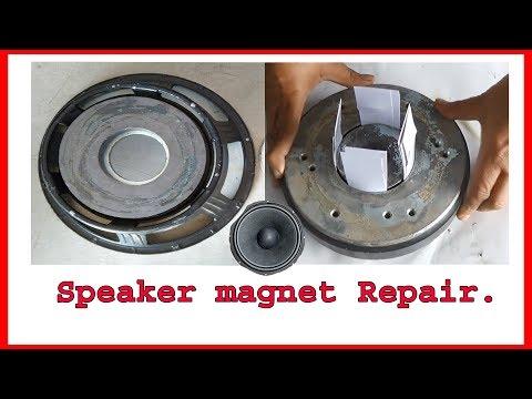 Speaker Magnet shift repair (Hindi)