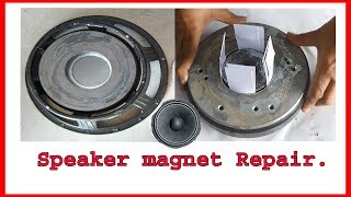 Speaker Magnet shift repair (Hindi)