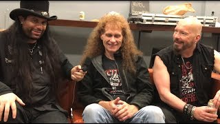 Exciter, Razor, Night Demon, Interviewt w/ Neil Turbin-John Ricci Leaves Exciter