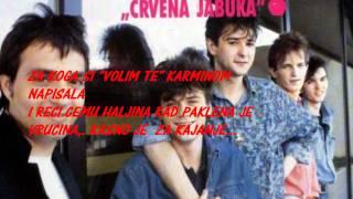 "Video thumbnail of ""crvena jabuka-NEMA VISE VREMENA-TEXT"""