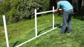 SnapFence™ 3' Single Rail Wire Pet/Garden Enclosure