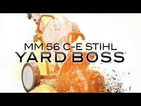 Stihl MM 56 C-E YARD BOSS® in Calmar, Iowa - Video 9