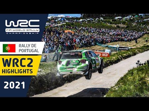 WRC2のDay3ハイライト動画 WRC 2021 第4戦ラリー・ポルトガル