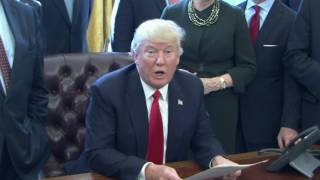 Trump Signs Another Order to Reduce Regulation