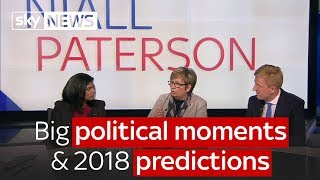 Big political moments of this year and predictions for 2018