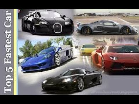 Top 5 Fastest Car In The World