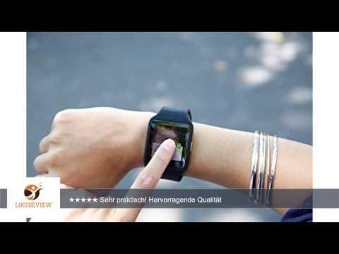 Sony Mobile SWR50 SmartWatch 3 Fitness- und Aktivitätstracker Armband Kompatibel mit Android 4.3+