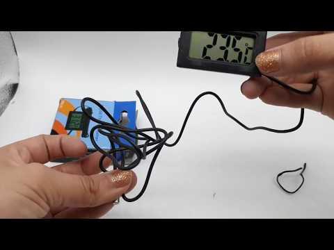 Termómetro Higrómetro Digital Medidor De Humedad + Baterías