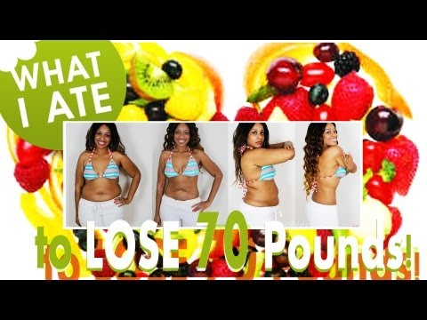 Video What I ate to lose 70 Pounds!!!  | My Breakfast, Lunch & Snack Food Options