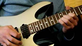 Dream Theater Goodnight Kiss Guitar Solo