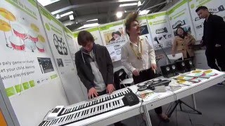 CeBIT 2016 Song of Storms on Roll Up Piano