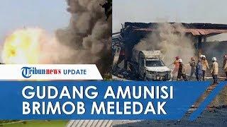 Gudang Amunisi Brimob di Srondol Meledak, Kapolda Jateng: Meledak, Tidak Didahului Kebakaran