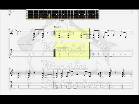 Default   Wasting My Time GUITAR 2 TAB