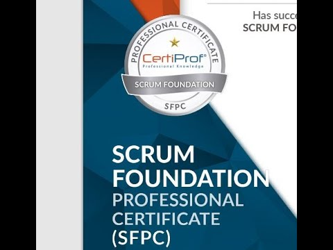 How to Get Scrum Foundations Professional Certificate (SFPC) for ...