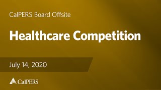 Healthcare Competition | July 14, 2020
