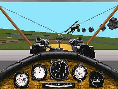 Red Baron  (Sierra\\\\Dynamix) - PC Game 1990