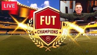 FIFA 17: FUT CHAMPIONS MIT EINEM BILLIG TEAM ! TOTY VORBEREITUNG [LIVESTREAM REUPLOAD]