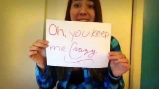 "#BEMYCRAZYVALENTINE ""Chris Wallace - Keep Me Crazy"" Fan Video"