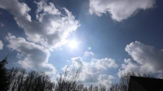 2017-03-22 MVI_4566 Hazy sky with sun and clouds