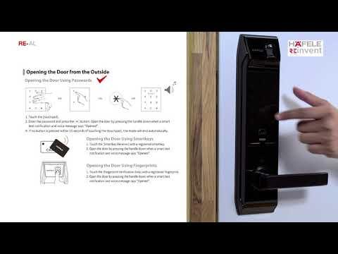 RE-al DIgita Lock Manual Video