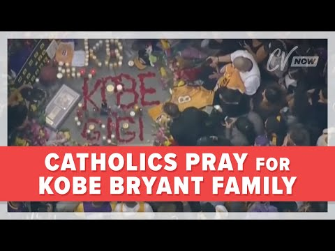 Catholics Pray for Kobe Bryant Family