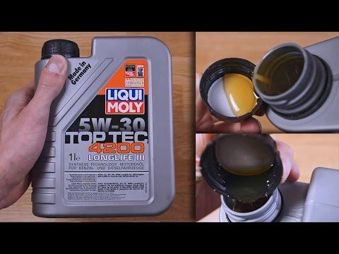 Liqui Moly Top Tec 4200 5W30 Longlife III original engine oil show