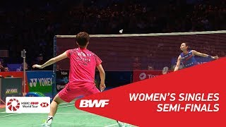 WS | TAI Tzu Ying (TPE) [1] vs CHEN Yufei (CHN) [8] | BWF 2018