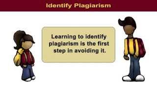 Understanding Plagiarism: Identifying Plagiarism