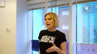 Мастер-класс по дефиле от Дарьи Черныш для реалити шоу New Model Show