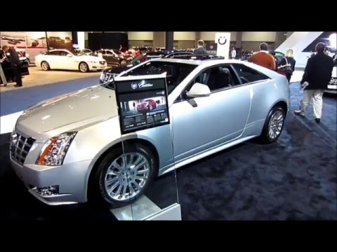New Cadillac CTS Coupe – 2013 Washington DC Auto Show – Sneak Peek Preview