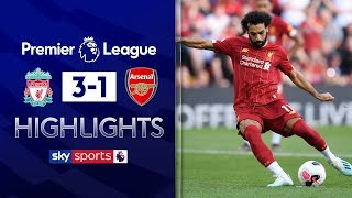 SUBSCRIBE ► http://bit.ly/SSFootballSub Highlights from Anfield of Liverpool's 3-1 victory over Arsenal in the Premier League. Watch Premier League LIVE on Sky Sports here ► http://bit.ly/WatchSkyPL ►TWITTER: https://twitter.com/skysportsfootball ►FACEBOOK: http://www.facebook.com/skysports ►WEBSITE: http://www.skysports.com/football  MORE FROM SKY SPORTS ON YOUTUBE: ►SKY SPORTS FOOTBALL: http://bit.ly/SSFootballSub ►SKY SPORTS BOXING: http://bit.ly/SSBoxingSub ►SOCCER AM: http://bit.ly/SoccerAMSub ►SKY SPORTS F1: http://bit.ly/SubscribeSkyF1