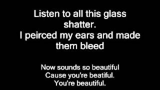 Eyes Set To Kill Beauty Through Broken Glass (with lyrics)
